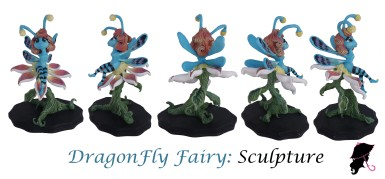Full Fairy Sculpt turnaround