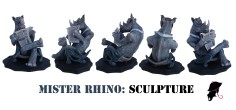 Rhino Sculpt Turnaround