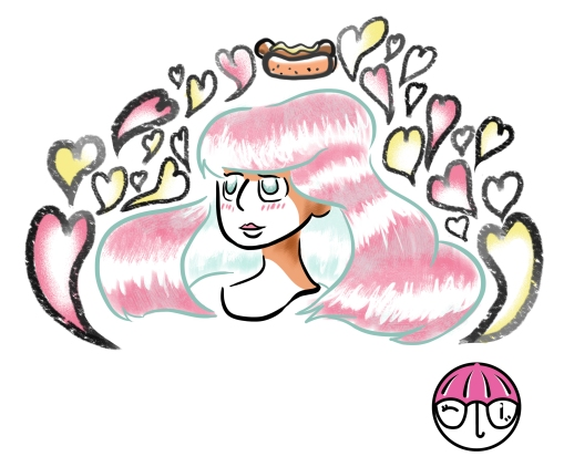 Hotdog lady